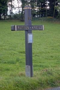 Das Russenkreuz bei Diedenberg in Erinnerung an den Bauern aus Fähringen. Foto: Eberhard Nilius