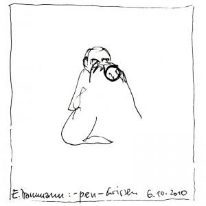Zeichung von Ekkehard Dammann