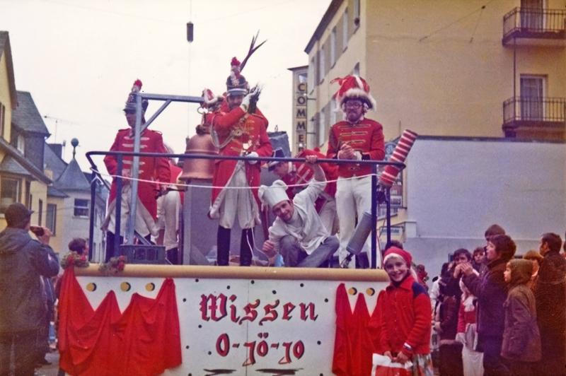 Kommandant Helmut Stricker, Koch der Prinzengarde Friedrich Fuchs und Tanzoffizier Manfred Müller