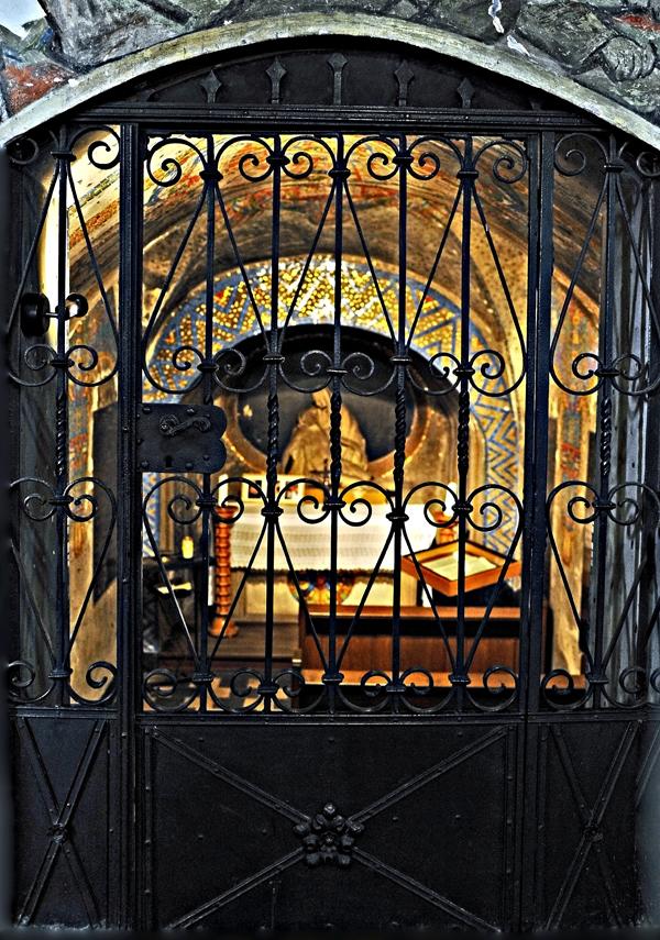 Krypta in der Pfarrkirche Wissen