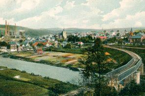Ein Zug drei Namen: die Wissertalbahn, de Wolberzuch, dat Wolberbähnchen