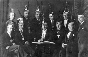 Dialektmischung Elferrat 1925